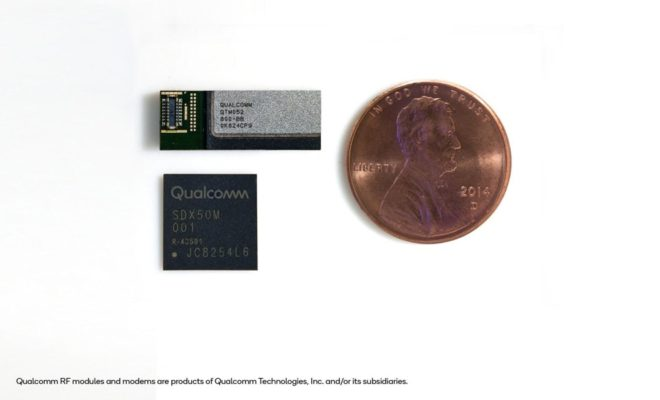 Qualcomm delivers breakthrough 5G NR mmWave and Sub-6 GHz RF module